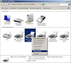 Entfernen oder Deinstallieren eines Druckertreibers unter Windows 7/8/10/10